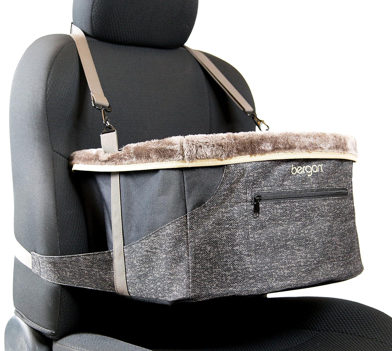 Bergan Sitting Car Booster for Medium Breeds, Black 88854