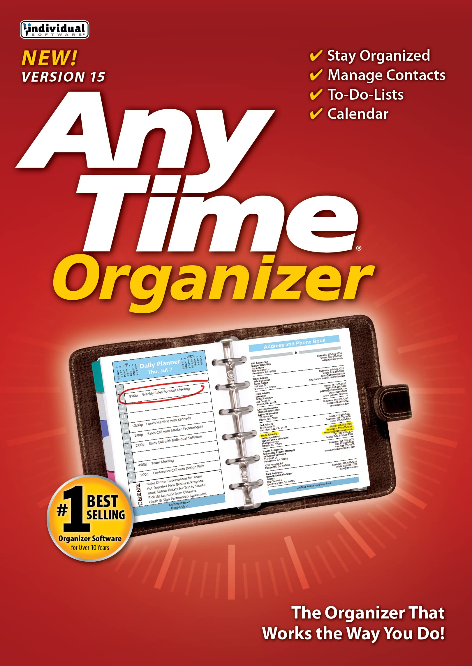 AnyTime Organizer Standard 15 [Download] A1V1MOMY1aL