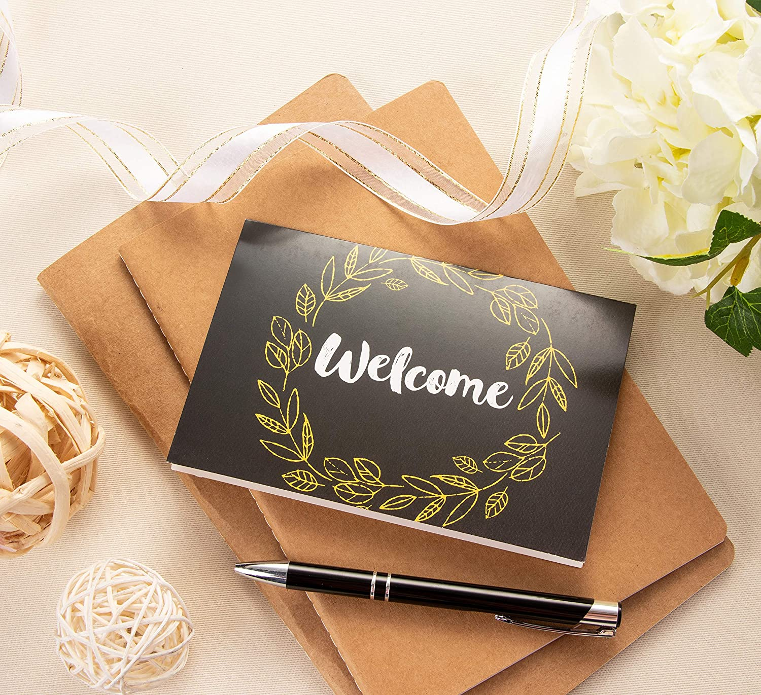 All Occasion Cards Notecards with Envelopes Included 6 Floral Designs Blank Note Cards 4 x 6 Inches 48 Pack Welcome Greeting Cards Bulk Box Set