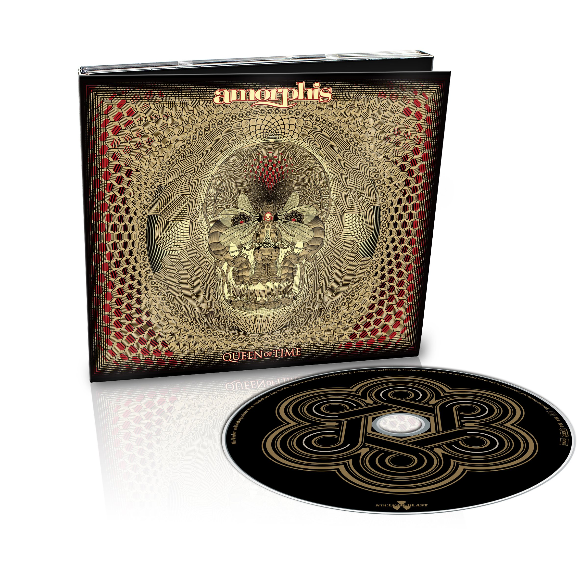 CD : Amorphis - Queen Of Time (CD)
