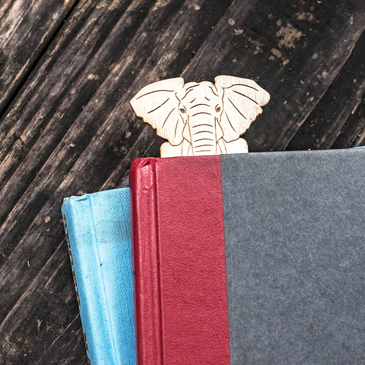 An Elephant Never Forgets Bookmark