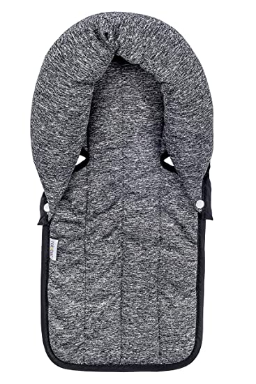 Infant Head Support Newborn Baby Accessories Cotton Car Seat Cushion For Neck And Body Support