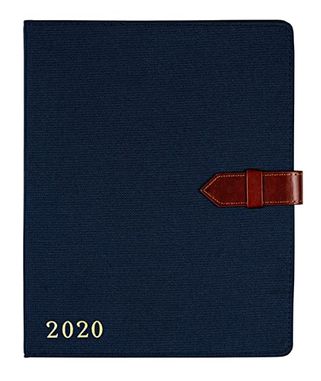 2019-2020 Eccolo Large Agenda Planner, 18 Months of Monthly & Weekly Views, 8 x 10