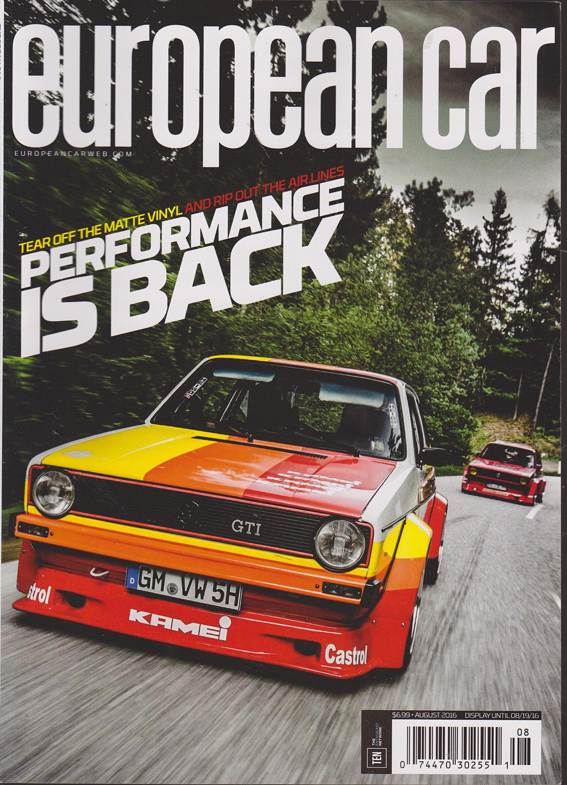 Read Online European Car Magazine August 2016 ebook
