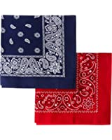 Levi's Men's 2 Pack Printed Bandanas