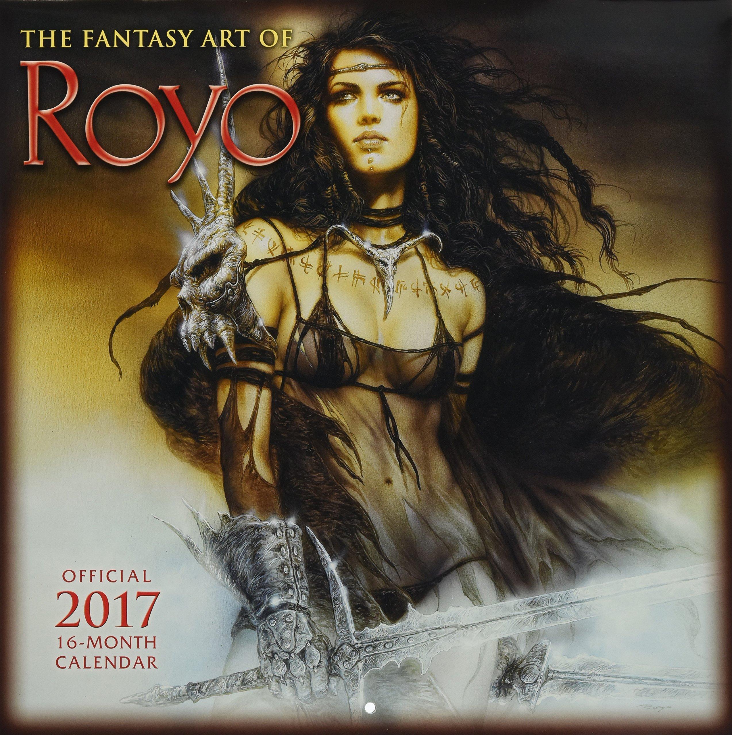 The Fantasy Art Of Luis Royo 2017 Wall Calendar Luis Royo