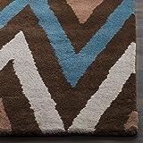 Safavieh Chatham Collection CHT151B Handmade Brown