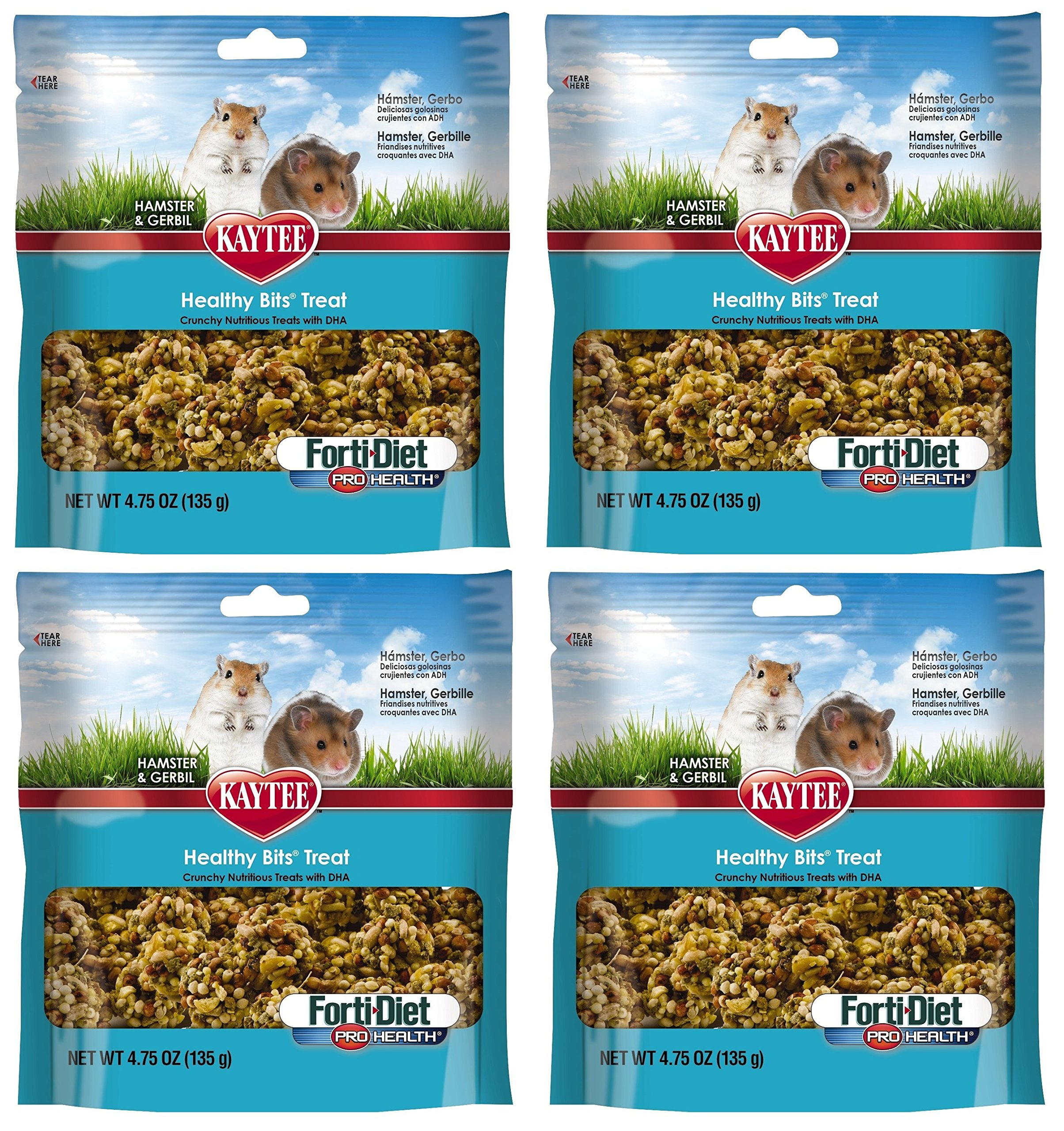 Kaytee Forti Diet Healthy Bits Treat, 19 Ounces, for Hamsters and Gerbils