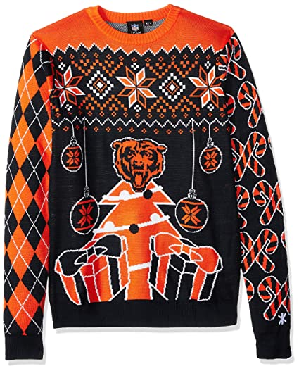 FOCO NFL Chicago Bears Mens Holiday Ugly Christmas Tree   Ornament  Sweaterholiday Ugly Christmas Tree   ab87d6053