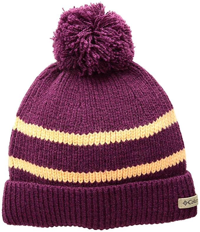 39d0c59c6b32e Amazon.com  Columbia Girls  Big Auroras Lights Beanie