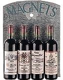Creative Co-Op Wine Bottle Magnet Set