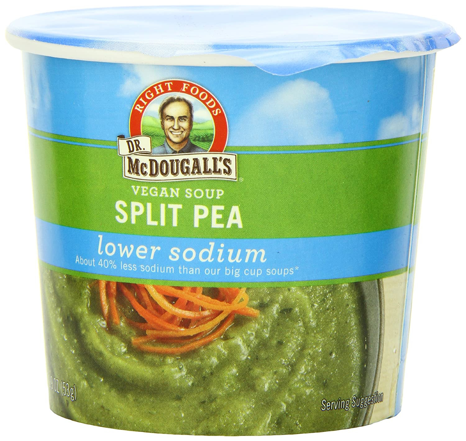 Relatively Amazon.com : Dr. McDougall's Right Foods Vegan Split Pea Soup  IS48