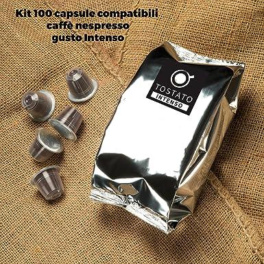 100 Cápsulas de Café Compatibles con Máquinas Nespresso ...
