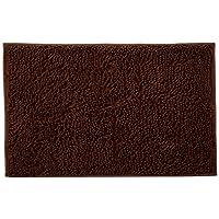 Vdomus Non-slip Microfiber Shag Bathroom Mat, 20 x 32-Inches, Brown (Brown)