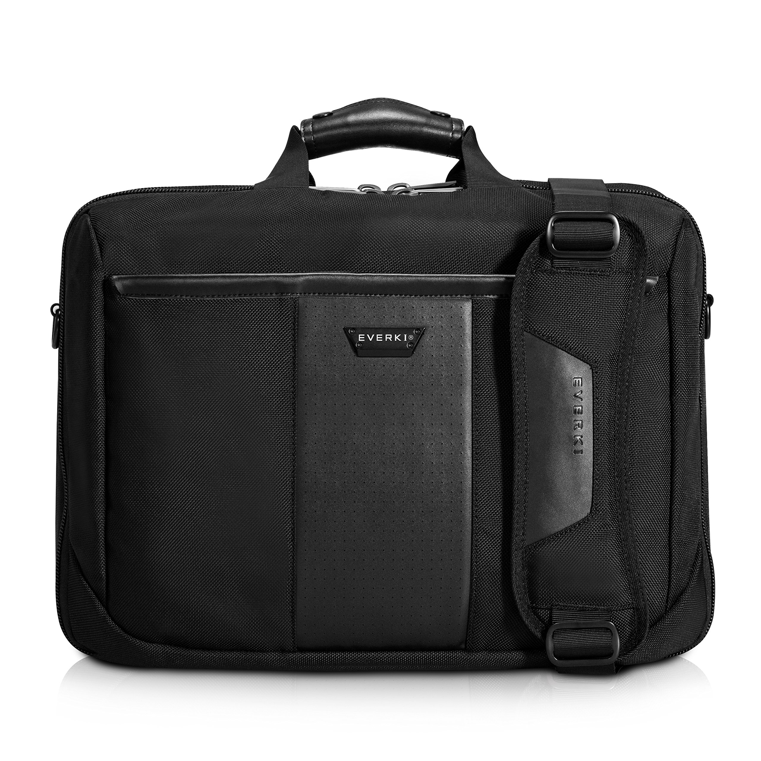 Everki Versa Premium Checkpoint Friendly Laptop Bag - Briefcase, Upto 17.3-Inch (EKB427BK17)