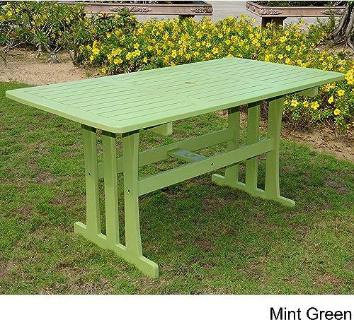International Caravan Furniture Piece Acacia Rectangular Dining Table
