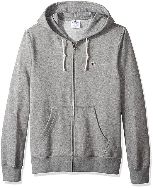 d77e02e3e Amazon.com: Champion LIFE Men's European Collection Full Zip Hoodie  (Limited Edition): Clothing