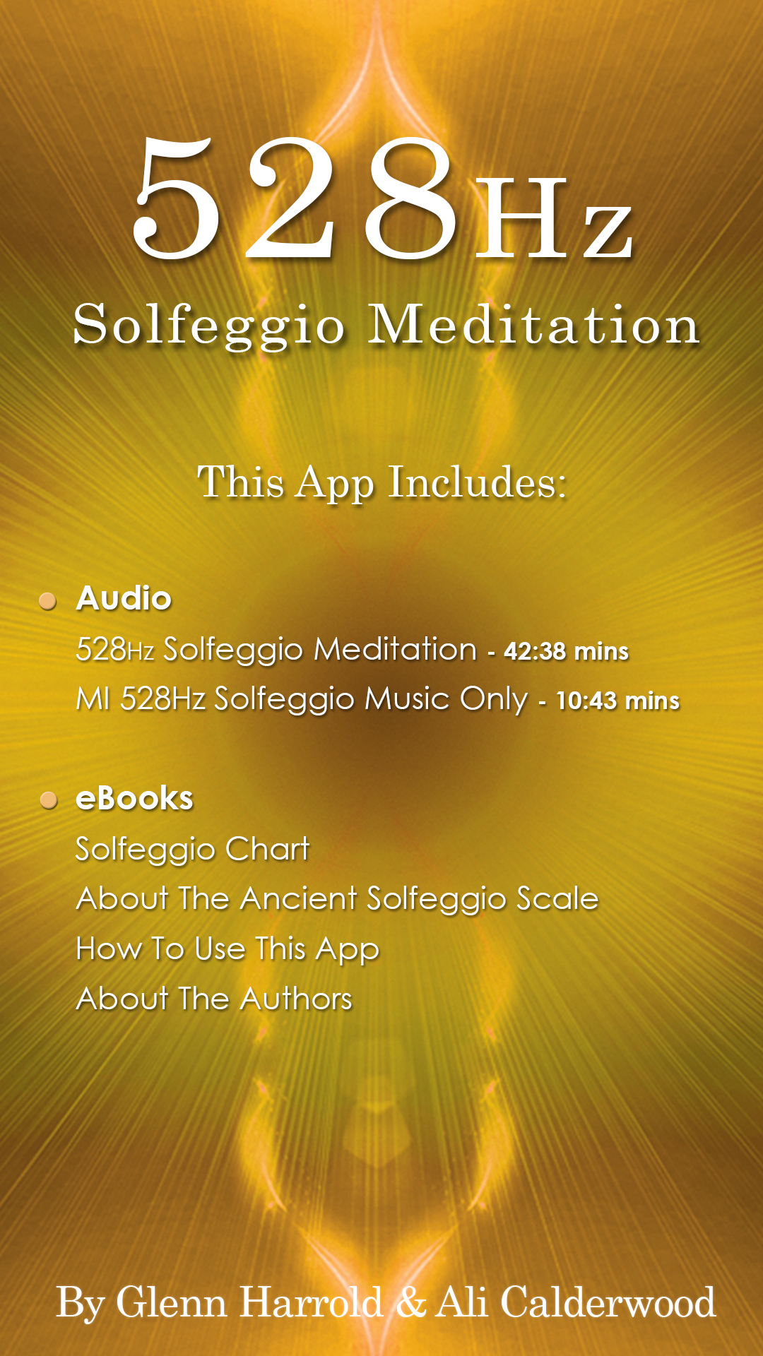 528 Hz Solfeggio Sonic Meditation by Glenn Harrold & Ali Calderwood