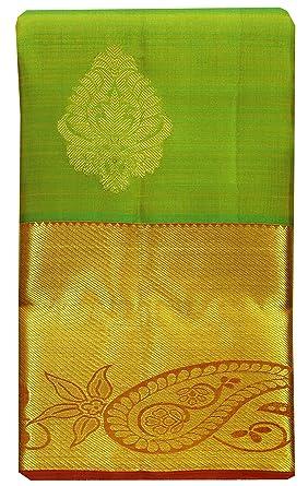 d28052e5ac Amazon.com: Saravanabava Silks - Kanchipuram Pattu Pure Silks Traditional Soft  Silk Sarees -SRBS26: Clothing