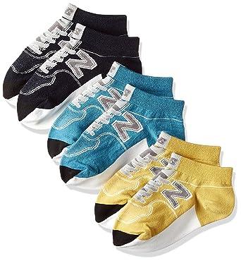 3b0b118ff3202 Amazon | (ニューバランス)New Balance(ニューバランス) キッズ ソックス 3Pパック JASL7771  3Pソックスボーイズシューズ JASL7771 AYL アトミックイエロー OSZ | 靴下 ...