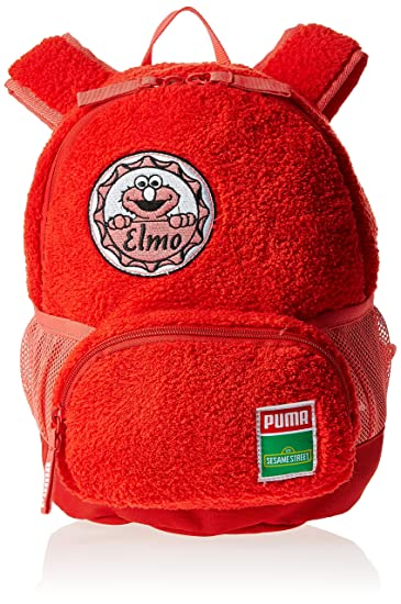 PUMA SESAME STREET KIDS BACKPACK - SMALL (High Risk Red/elmo)