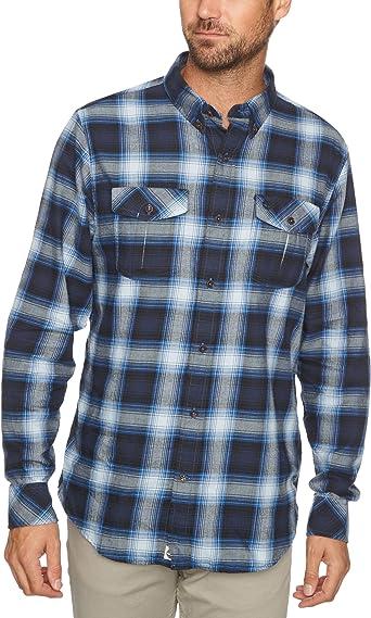 Timberland Camisa Cuadros Azul/Negro XXXL: Amazon.es: Ropa y accesorios