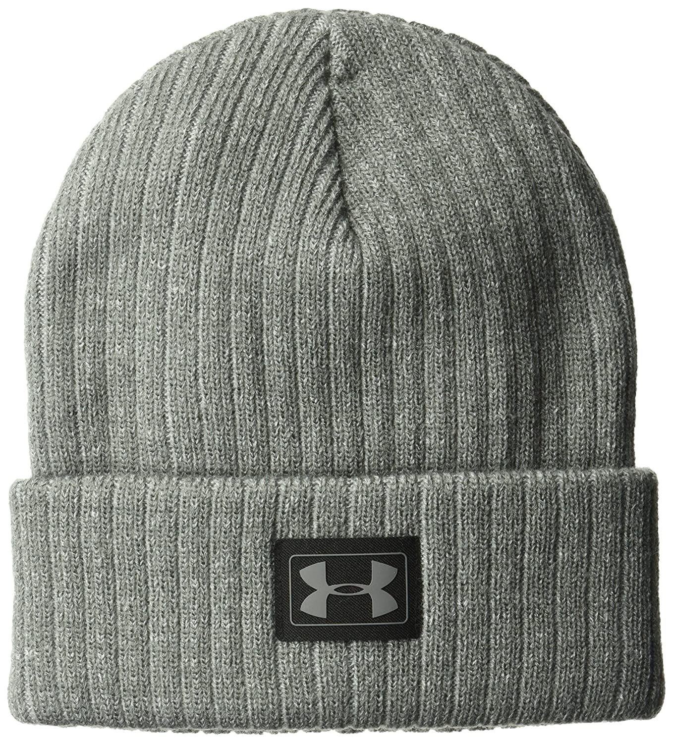 Under Armour Boys' Truck Stop Beanie, Black/Black, One Size Under Armour Accessories 1300093