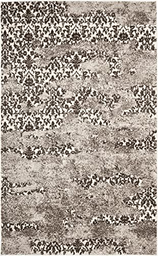 Safavieh Retro Collection RET2865-1379 Abstract Beige and Light Grey Area Rug 8 x 10
