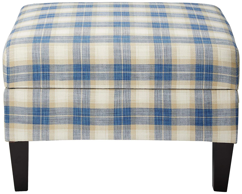 Peachy Amazon Com Christopher Knight Home Dasha Blue Plaid Fabric Machost Co Dining Chair Design Ideas Machostcouk