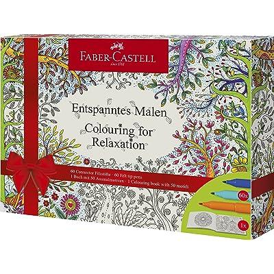 Faber-Castell Coffret cadeau Feutres Coloriage pour Relaxation