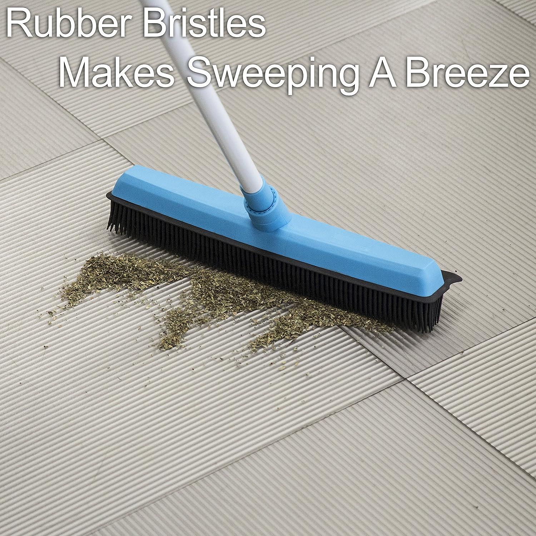 Rubber Bristle Carpet Broom Review