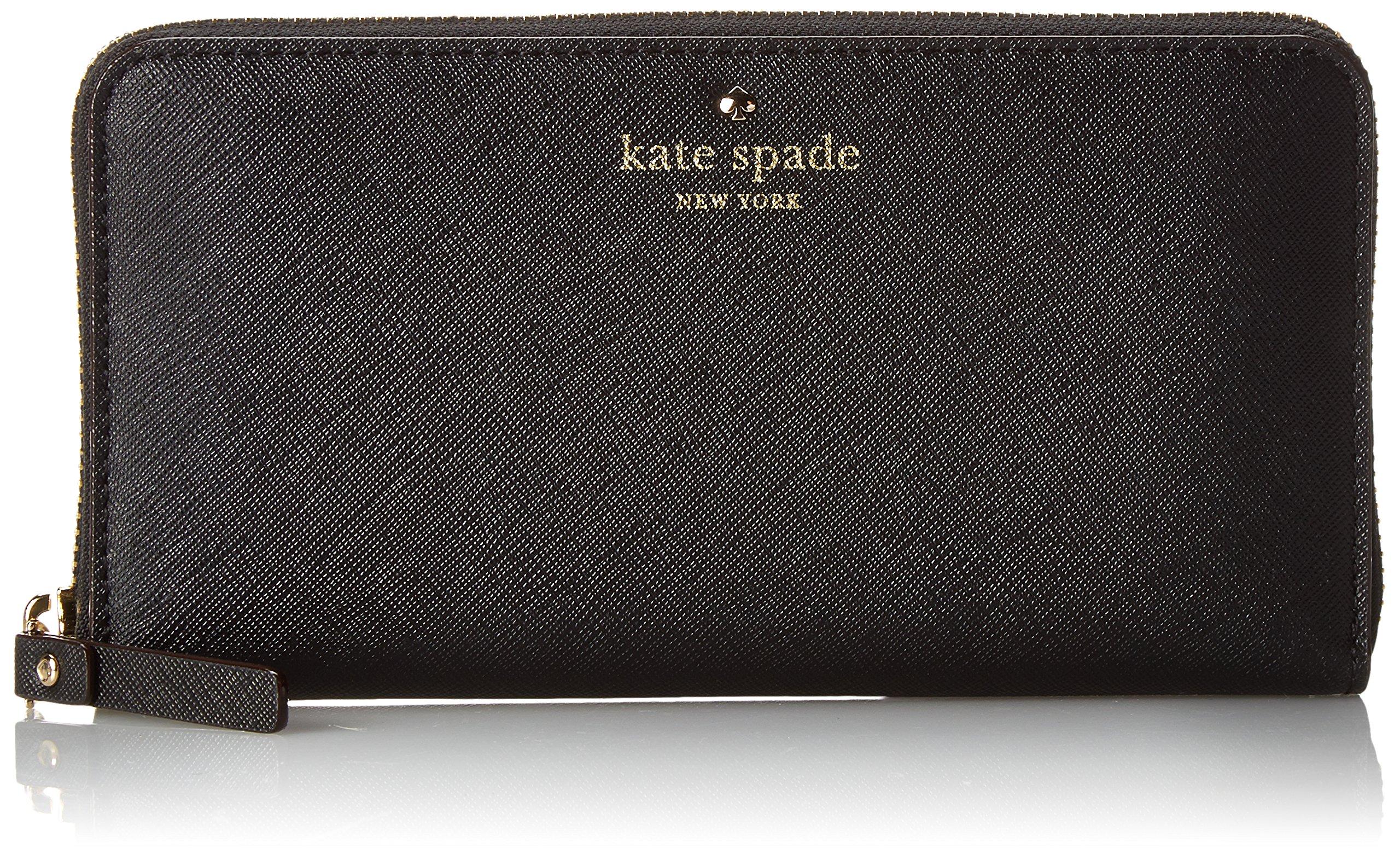 kate spade new york Cedar Street Lacey Wallet,Black,One Size