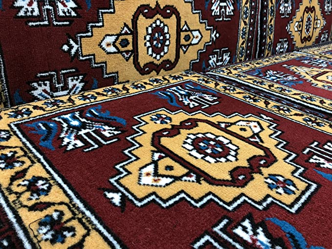 Orientalische Sitzecke traditionelle Orientalisches Sofa 9 Tlg Sitzkissen Set