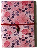 SPcreation Classic Rose Flowers Handmade Diarie(12.7cm x 17.78 cm)(94 pages)