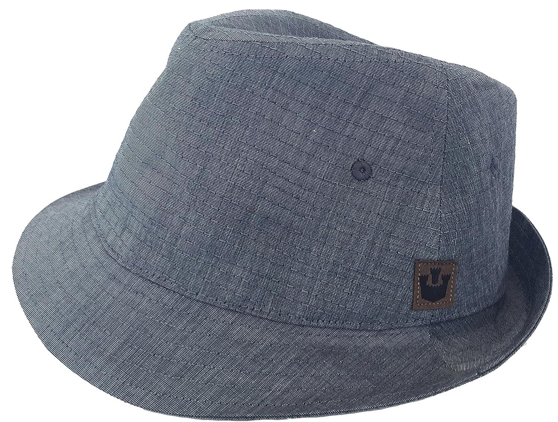3fa3db1f3 Goorin Bros. Vintage The Cape Soft Body 100% Cotton Fedora Trilby at ...