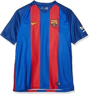 NIKE FCB YTH SS Hm Stadium JSY Camiseta Línea F.C. Barcelona Niños: Amazon.es: Ropa y accesorios