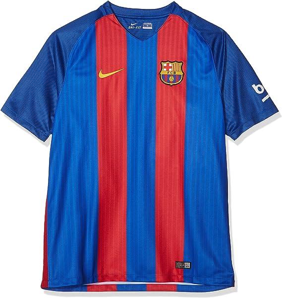 NIKE Men´S FC Stadium Top Camiseta De La 1ª Equipación Fútbol Club Barcelona 2016-2017, Hombre, Azul/Rojo/Dorado, XL: Amazon.es: Ropa y accesorios