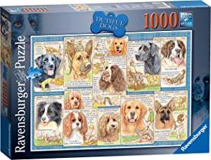 Ravensburger Dutiful Dogs Jigsaw Puzzle 1000 Piece for Adults & for Kids Age 12 and Up