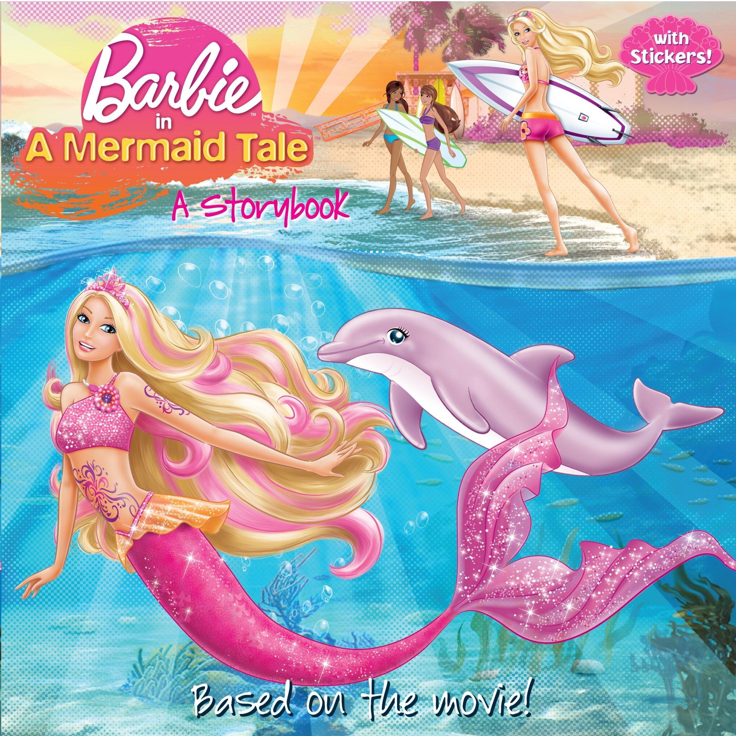 barbie in a mermaid tale a storybook barbie pictureback r