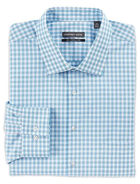 top-rated professional website top-rated genuine Geoffrey Beene Big and Tall Check Dress Shirts at Amazon ...