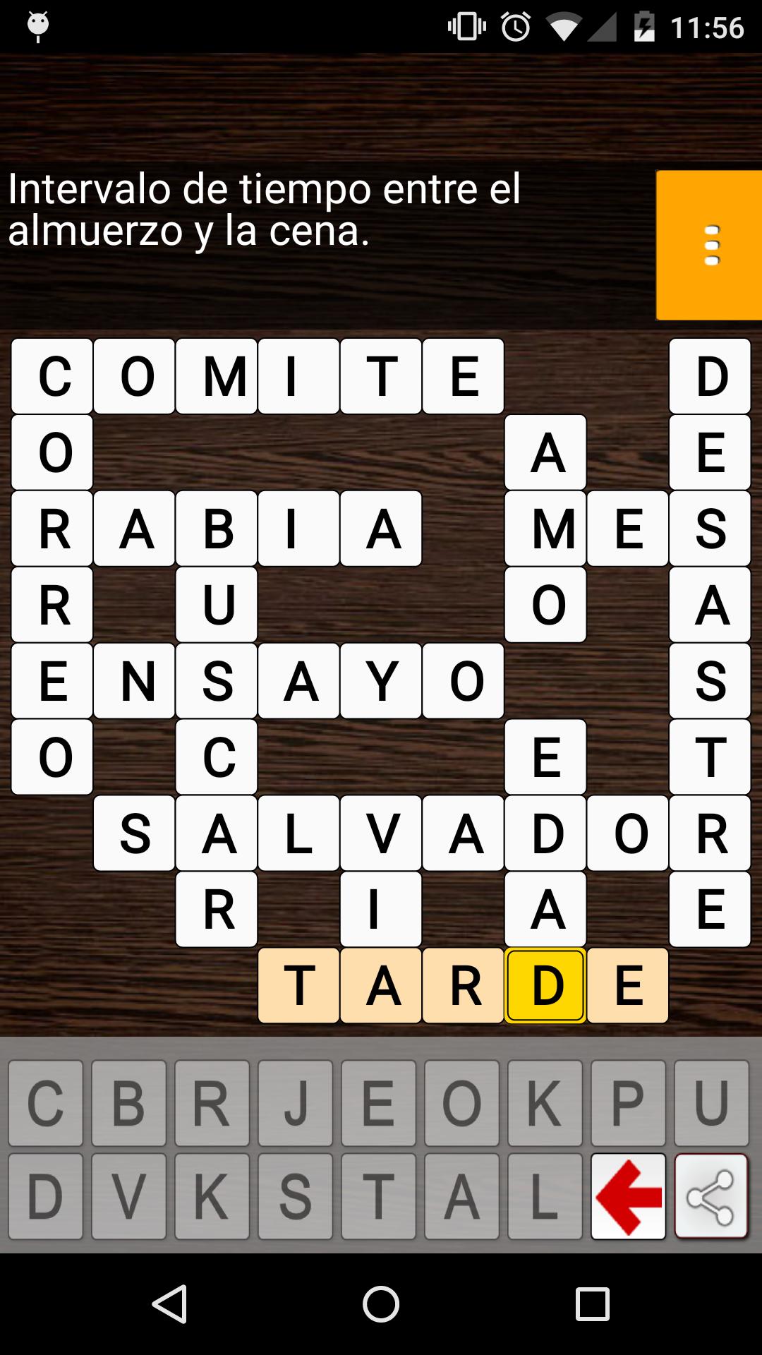 Palabras Cruzadas en Español: Amazon.es: Appstore para Android