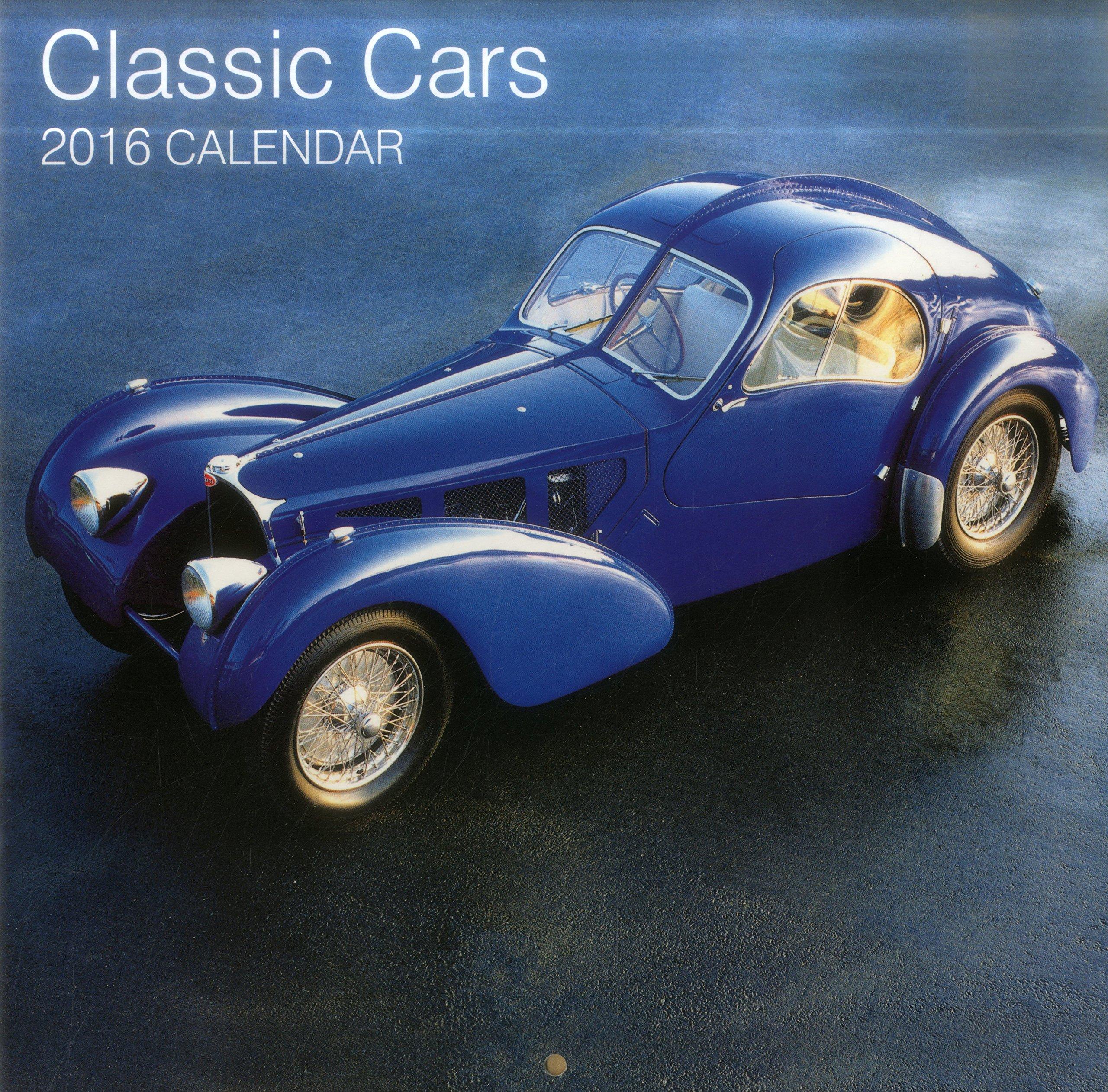 Calendar Classic Cars Peony Press Amazon