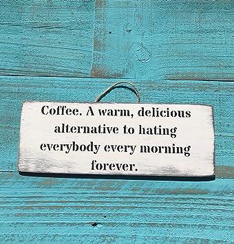 Amazon.com: Letrero de café – carteles de café regalo de ...