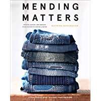 Mending Matters: Stitch, Patch, and Repair Your Favorite Denim & More book cover