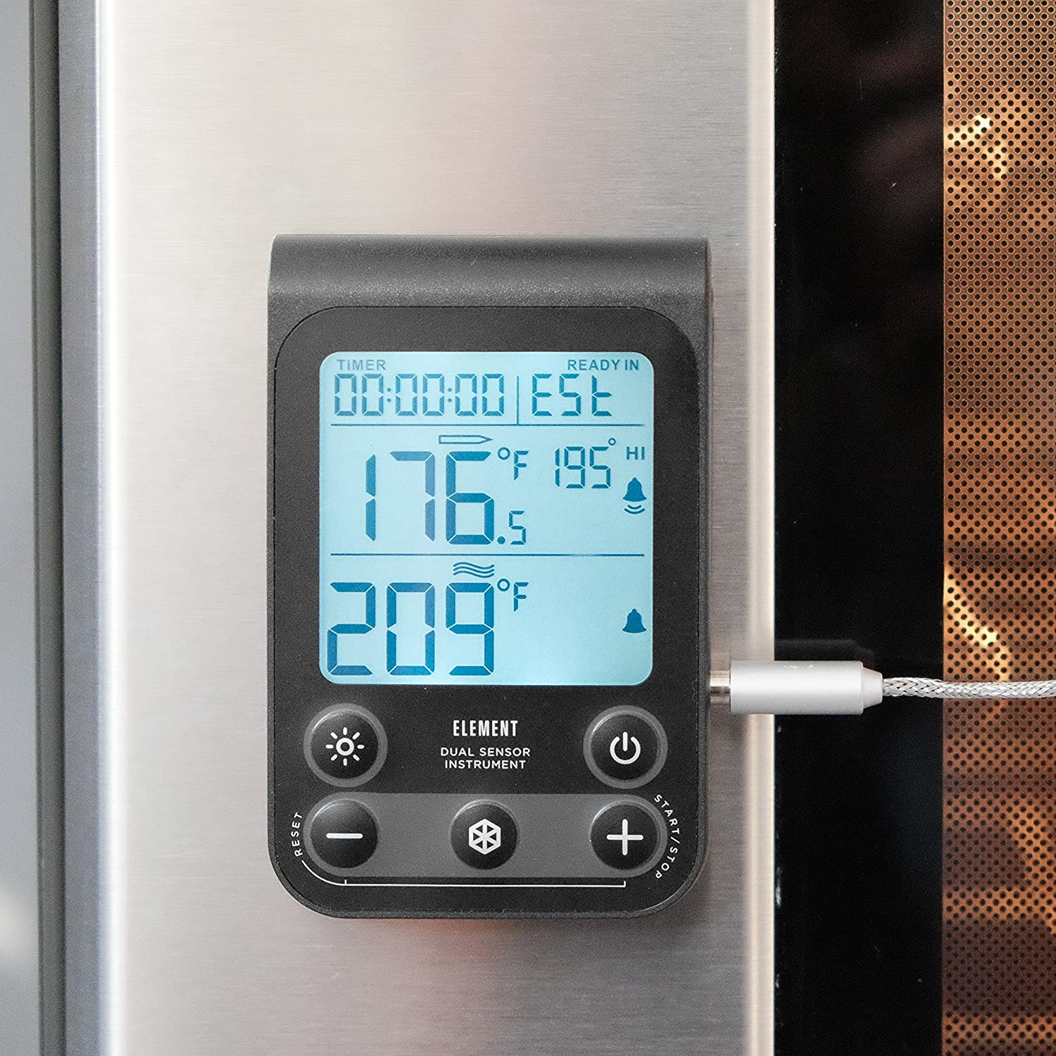 Amazon.com: Lavatools OVT2 Element Digital Oven Thermometer for Oven ...