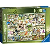 Ravensburger Country Life 1900s Puzzle 1000pc,Adult Puzzles