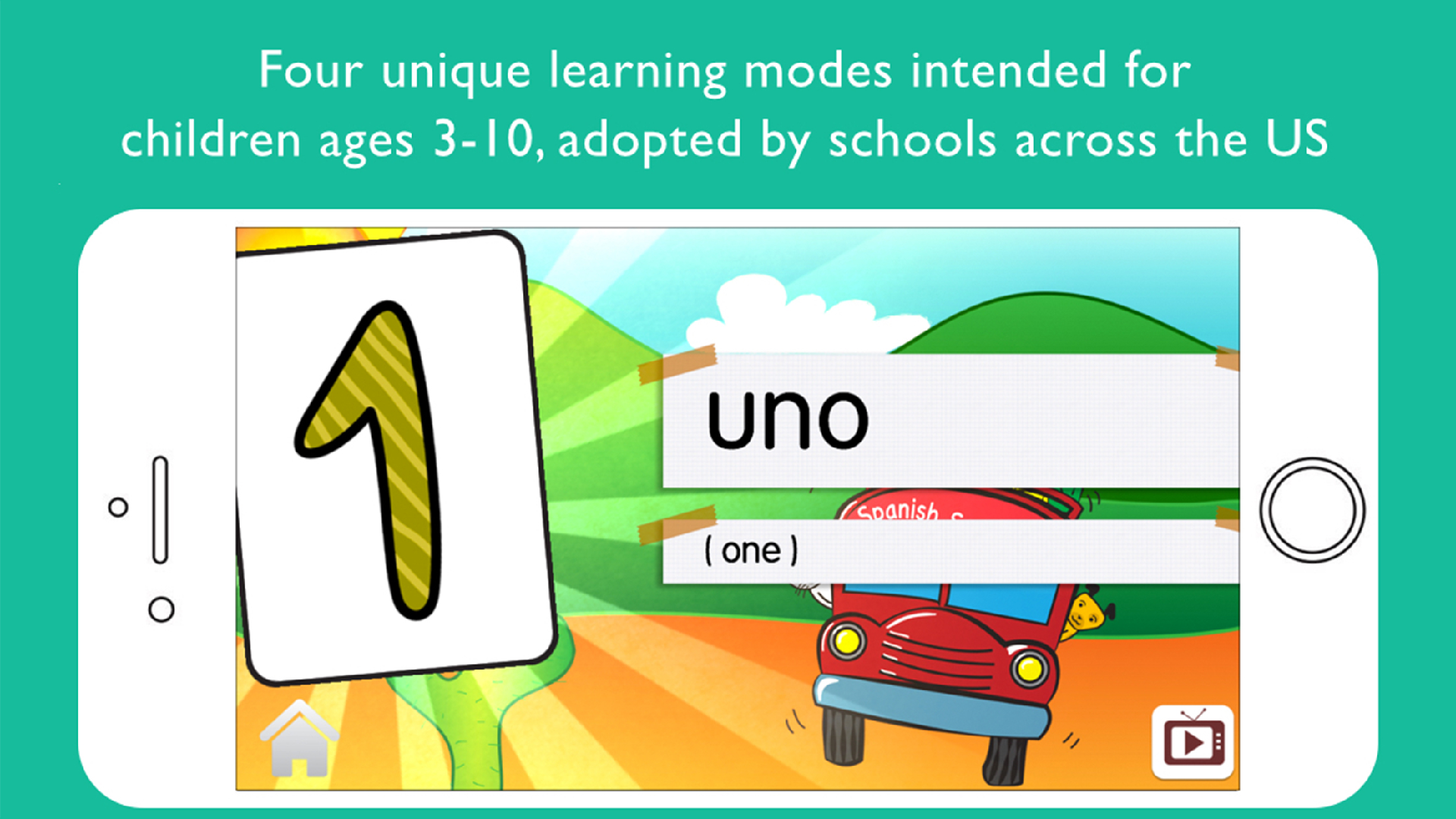 Amazon.com: Spanish School Bus for Kids: Appstore for Android