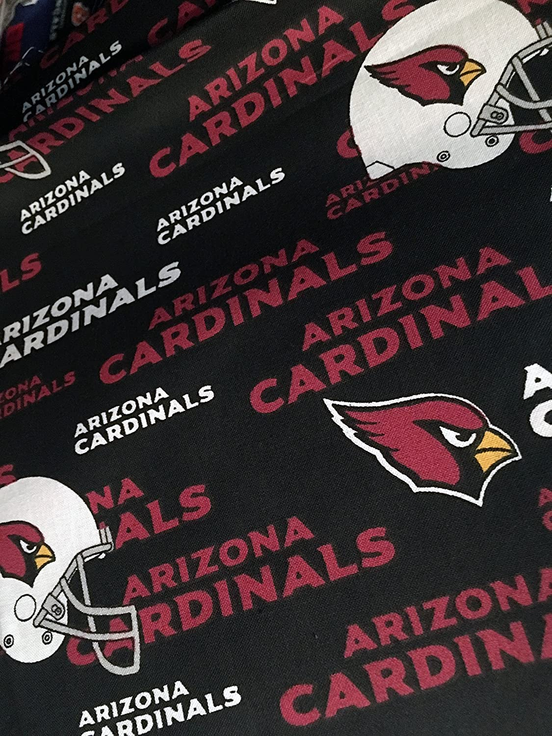 Customizable - Arizona Cardinals fabric handmade into bridal prom organza wedding thin garter TNT