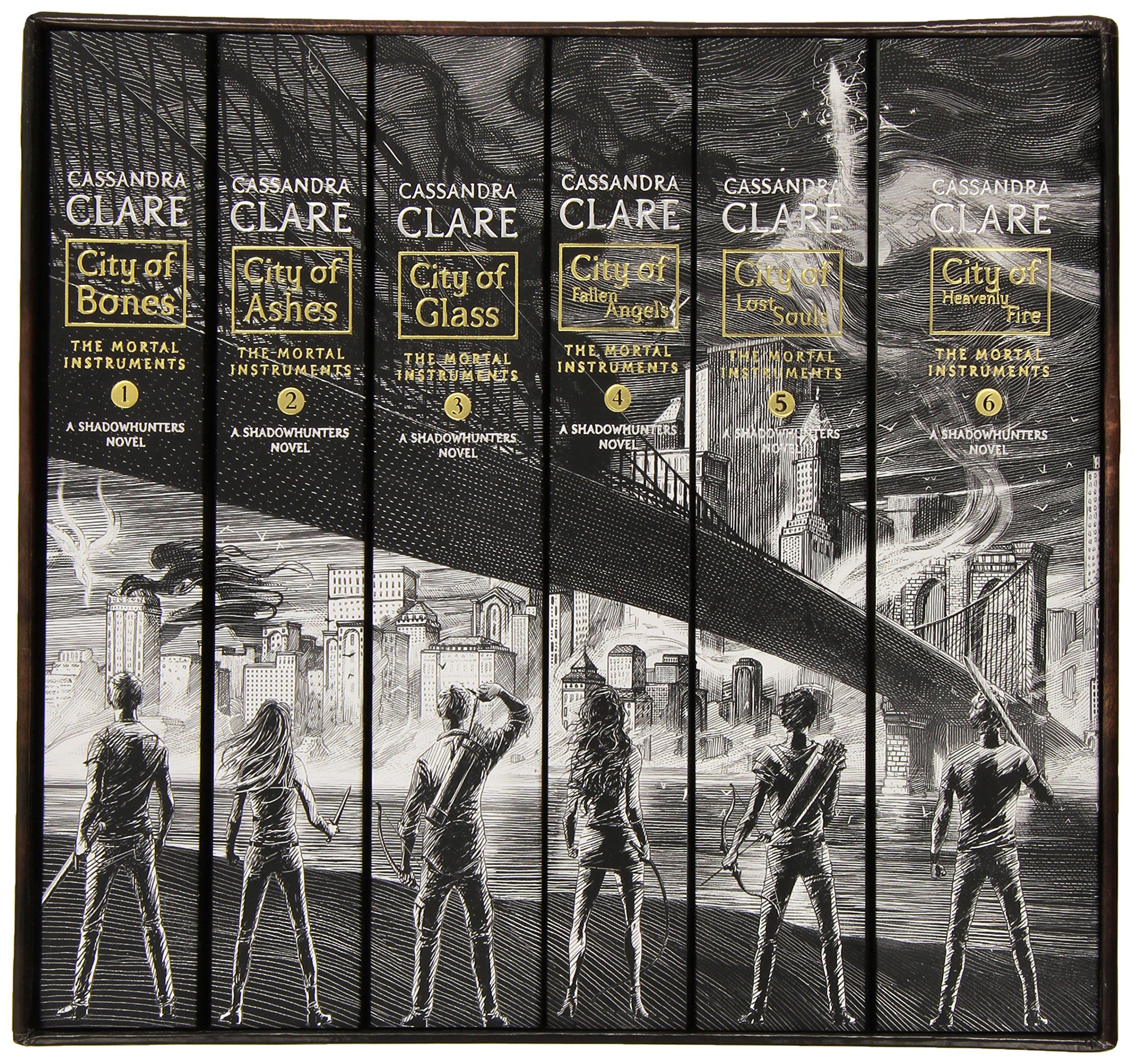 The Mortal Instruments, the Complete Collection(City of Bones/ City of Ashes/ City of Glass/ City of Fallen Angels/ City of Lost Souls/ City of Heavenly Fire) by Margaret K. McElderry Books