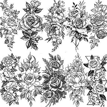 Gr/ö/ße 36 x 30 cm passend f/ür 6 breite Ordnerr/ücken Wallario Ordnerr/ücken Sticker Rosafarbene Rosenbl/üten im Strau/ß in Premiumqualit/ät